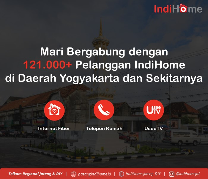 Mari Bergabung dengan 121.000+ Pelanggan IndiHome Daerah Magelang dan Sekitarnya